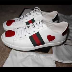 Authentic Gucci sneakers women's size 8